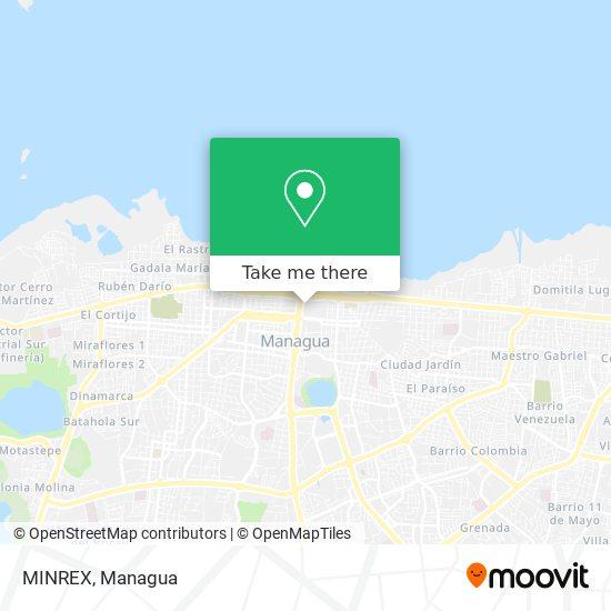MINREX map