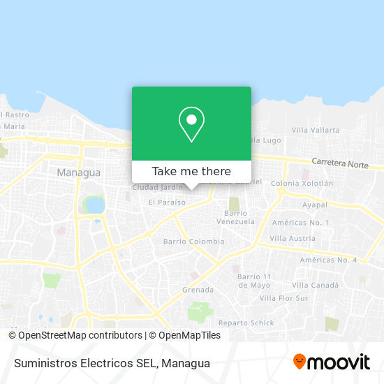 Suministros Electricos SEL map