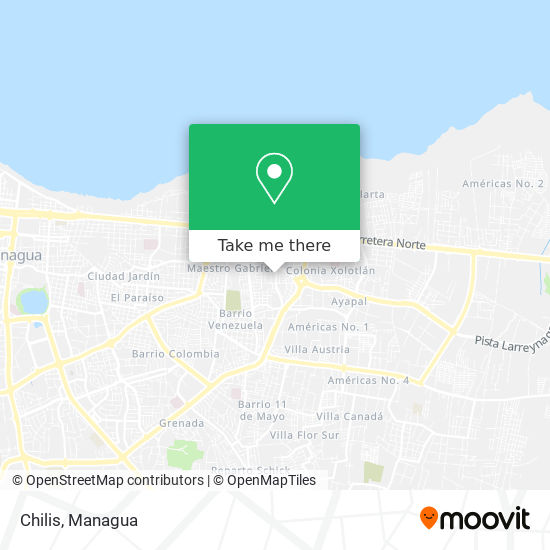 Chilis map