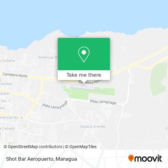 Shot Bar Aeropuerto map