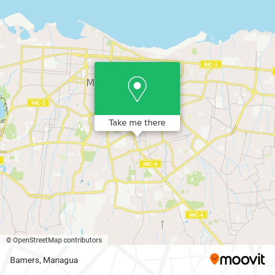 Bamers map