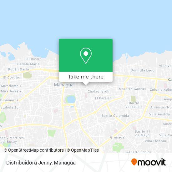 Distribuidora Jenny map