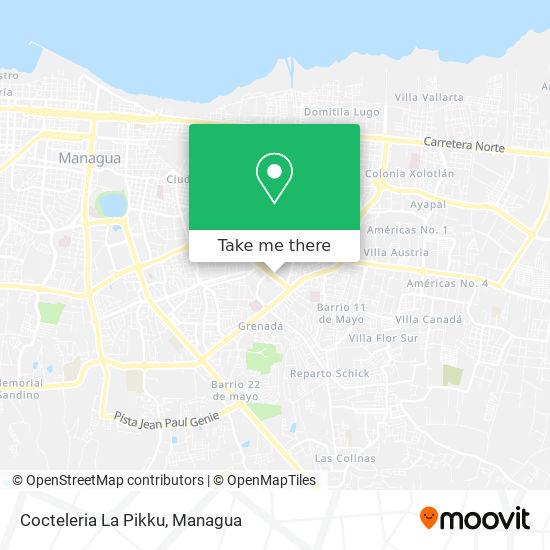 Cocteleria La Pikku map