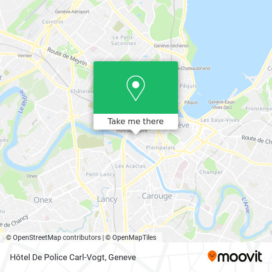 Hotel De Police Carl-Vogt map
