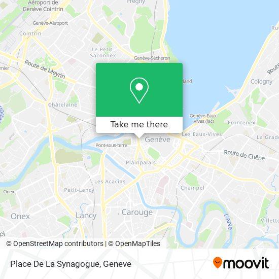 Place De La Synagogue map