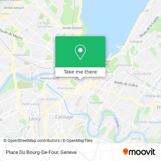 Place Du Bourg-De-Four map
