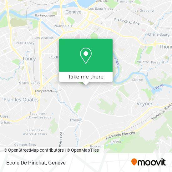 Ecole De Pinchat map