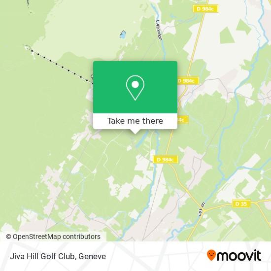 Jiva Hill Golf Club map
