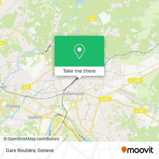 Gare Routière map