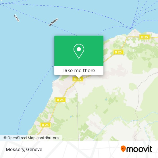 Messery map