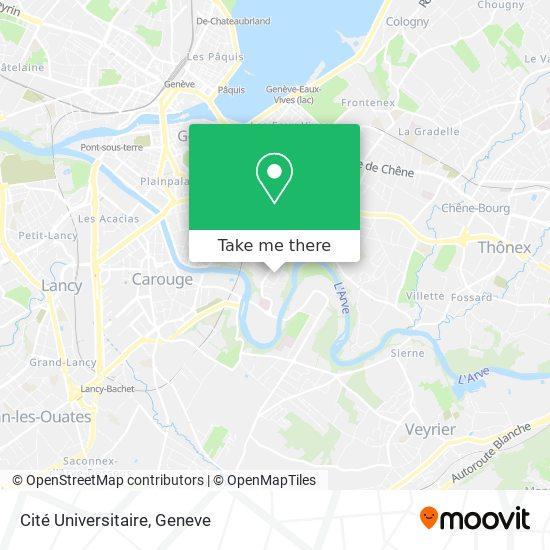 Mappa Cité Universitaire