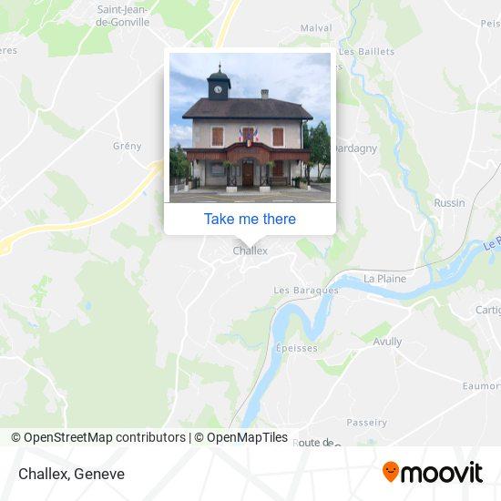 Challex map