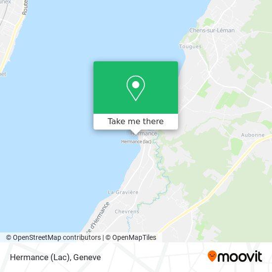 Hermance (Lac) map
