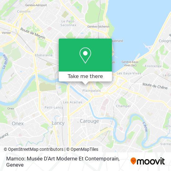 Mamco: Musée D'Art Moderne Et Contemporain map