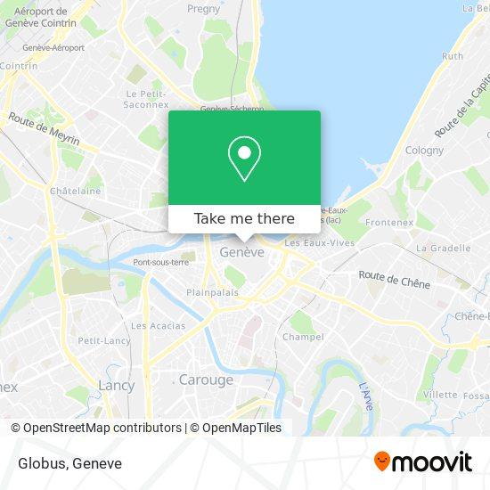 Globus map