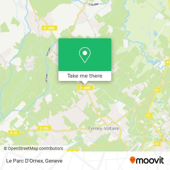 Le Parc D'Ornex map