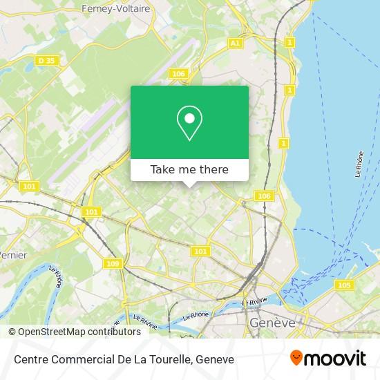 Centre Commercial De La Tourelle map
