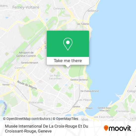 Musée International De La Croix-Rouge Et Du Croissant-Rouge map
