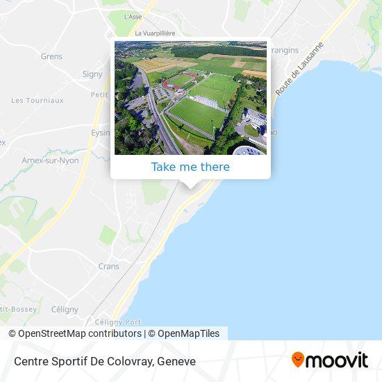 Centre Sportif De Colovray map