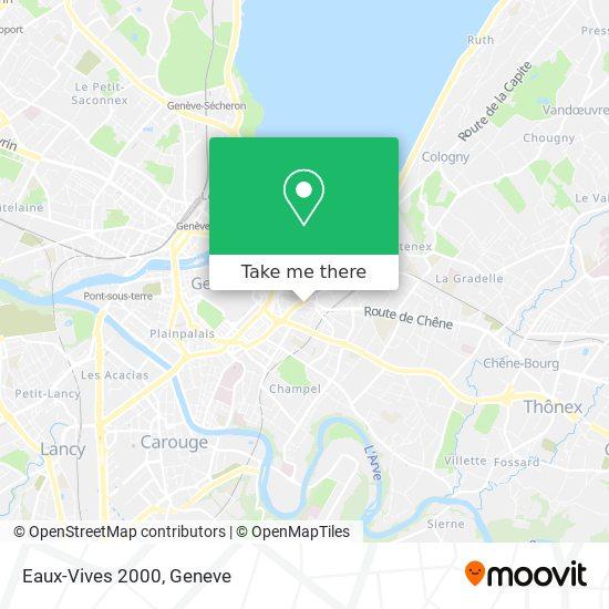 Eaux-Vives 2000 map
