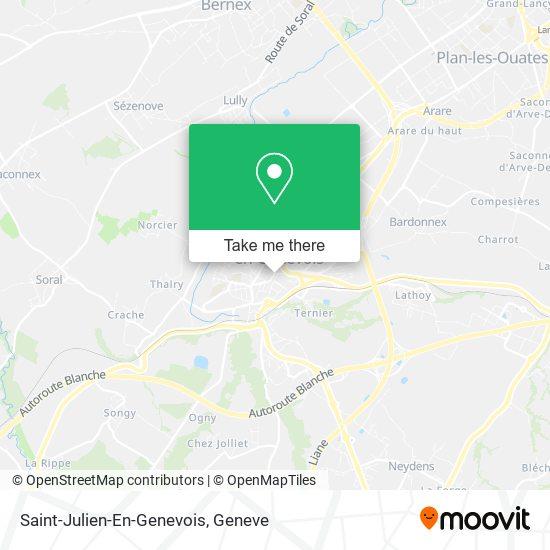 Saint-Julien-En-Genevois map