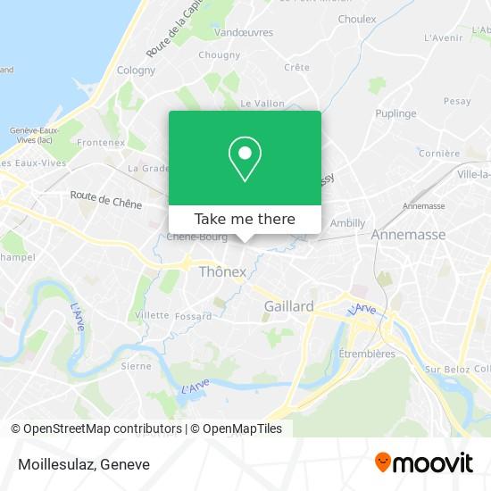 Moillesulaz map