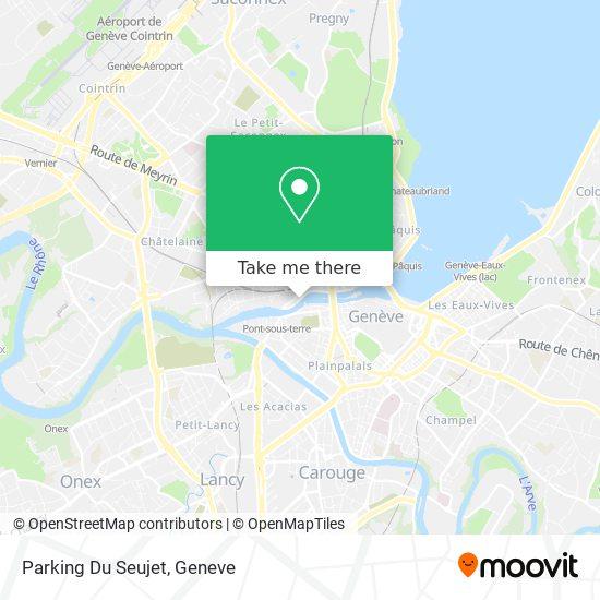 Parking Du Seujet map