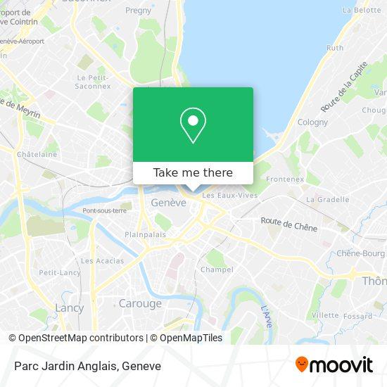 Parc Jardin Anglais map