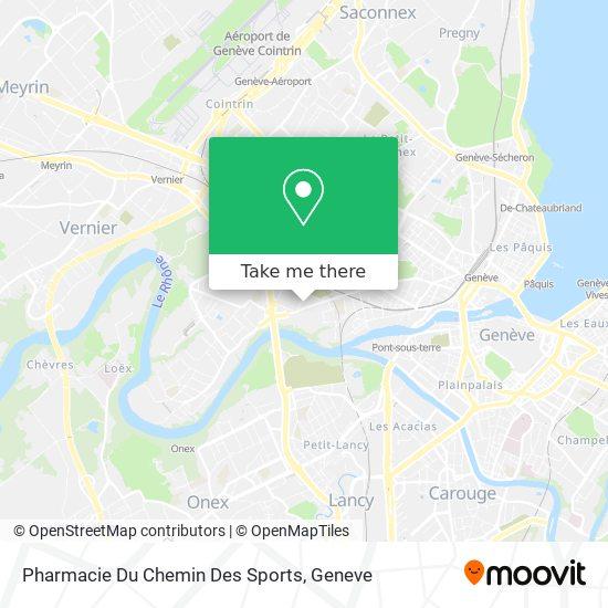 Pharmacie Du Chemin Des Sports map