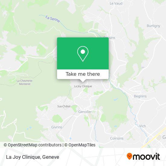 La Joy Clinique map