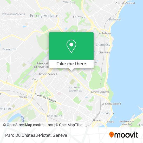 Parc Du Château-Pictet map