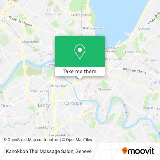 Kanokkon Thai Massage Salon map