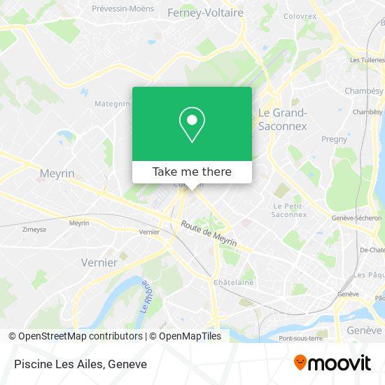 Piscine Les Ailes map