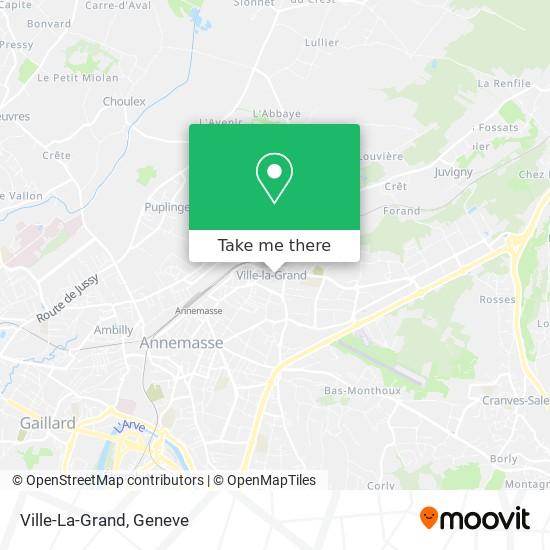 Ville-La-Grand map