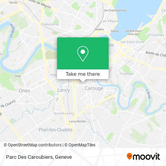 Parc Des Caroubiers map