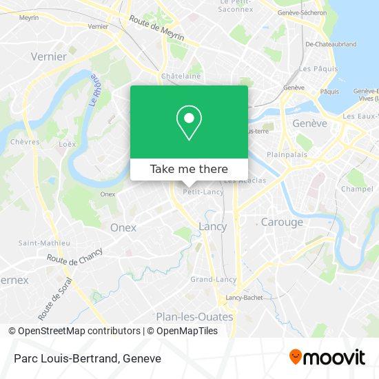 Parc Louis-Bertrand map
