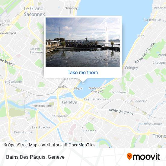 Bains Des Pâquis map