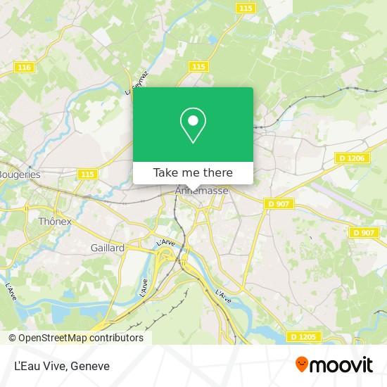 L'Eau Vive map