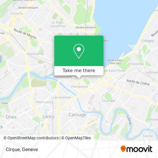 Mappa Cirque