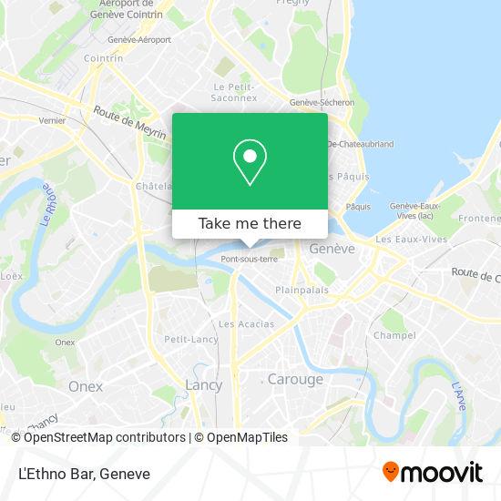 L'Ethno Bar map