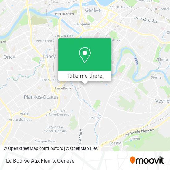 La Bourse Aux Fleurs map