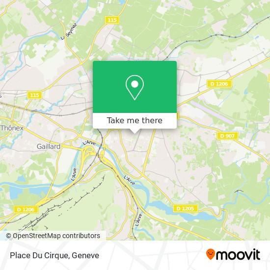 Place Du Cirque map