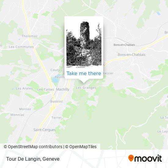 Tour De Langin map
