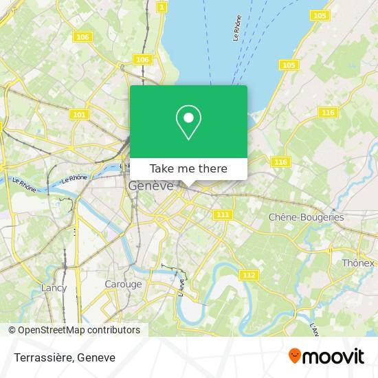 Terrassière map