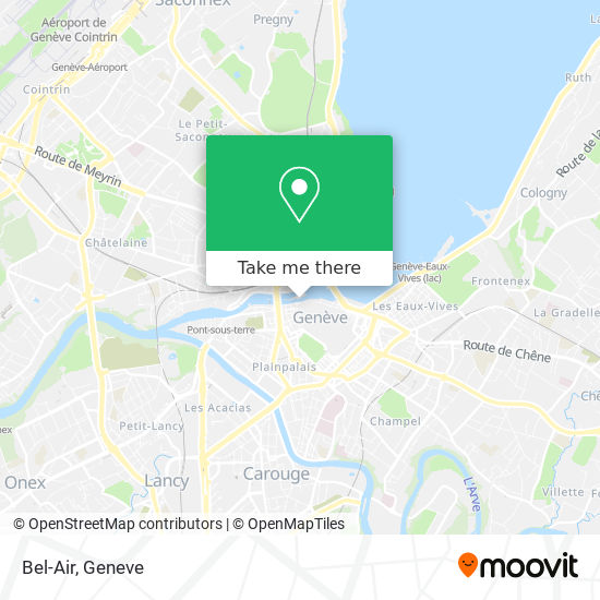 Bel-Air map