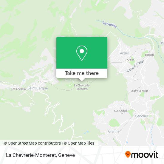 La Chevrerie-Monteret map