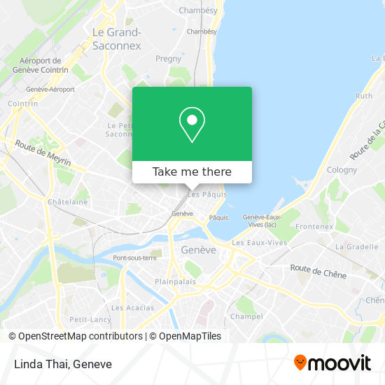 Linda Thai map