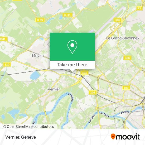 Vernier map