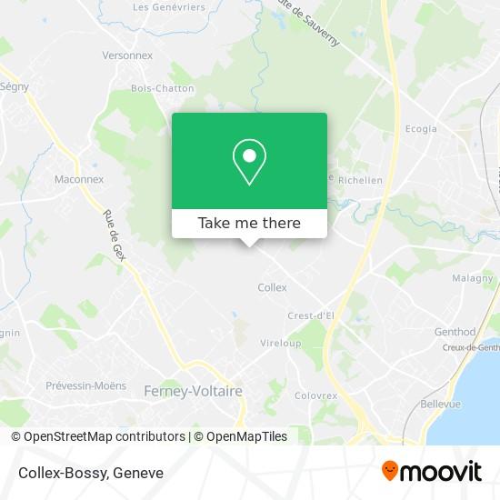 Collex-Bossy map