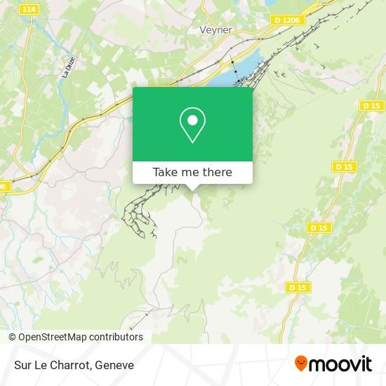 Sur Le Charrot map